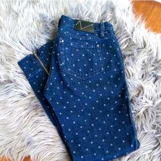 Vonzipper jeans