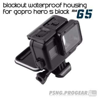 Blackout Waterproof Housing for Hero 5/6