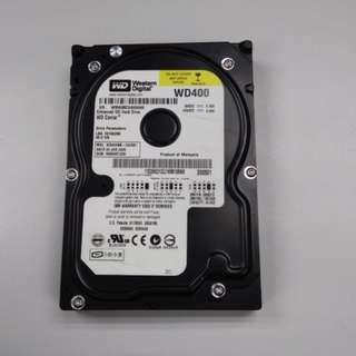 WESTERN DIGITAL HARD DISK IDE 40 GB 電腦硬碟