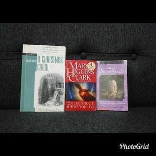 Sale❗❗Take all 3 Preloved books