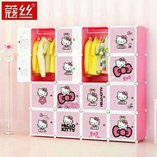 Hello Kitty 16cubes Diy Cabinet