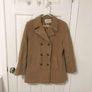Barrington's wool coat