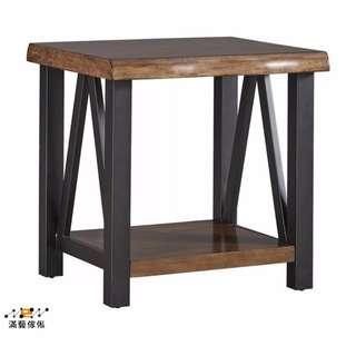 〈滿藝設計傢俬〉939 北歐現代簡約客廳沙發角几 長方形邊几 實木小茶几 美式家具
