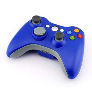 RED Stoga STB02 New Wireless Remote Pad Game Controller for Microsoft Xbox 360 PC Windows 7 XP Whit Joypad-Blue--140
