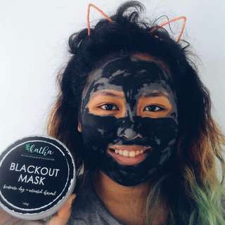 Anti acbe black out mask