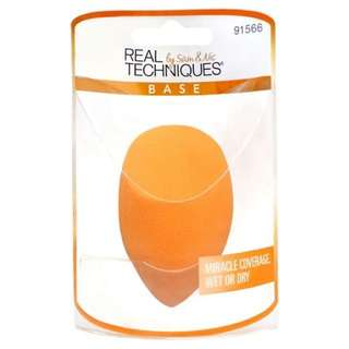 NEW INSTOCK AUTHENTIC Real Techniques Miracle Complexion Make Up Sponge Egg