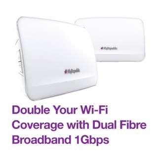 MyRepublic Dual Fibre Broadband Plans