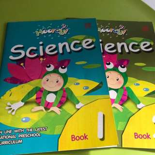 Hooray Science Preschool activity book