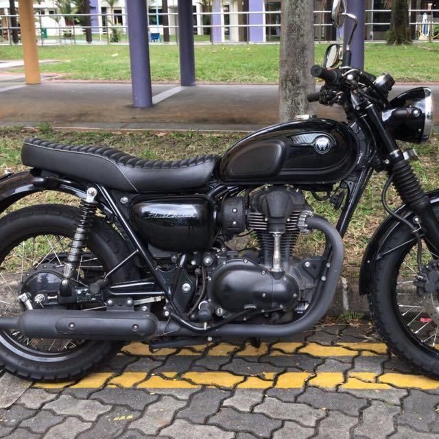 2015 Kawasaki W800 Black Edition Motorbikes Motorbikes For Sale