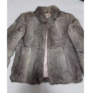 REAL Vintage Rabbit Fur coat