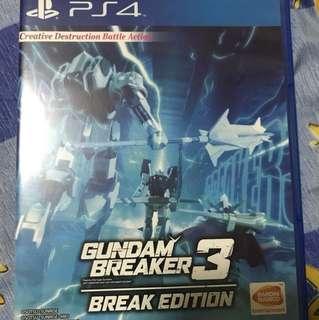 Gundam Breaker 3: Break Edition (R3)