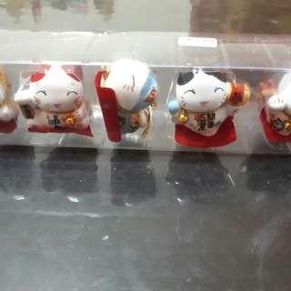 Hello Ketty (mini)5只迷你招财猫