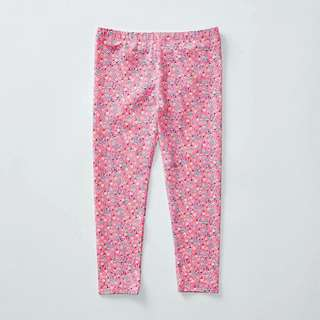 TARGET Pink Floral Leggings (size 4)
