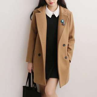Korean Brown/Camel Coat