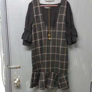 Dress Romper Overall