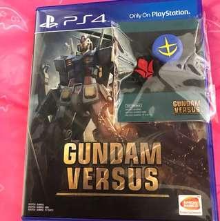 PS4 - Gundam Versus