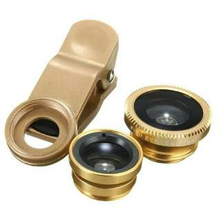 2 in 1 Fish Eye/ Wide Clip Lens
