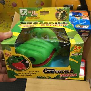 鱷魚牙齒 桌遊