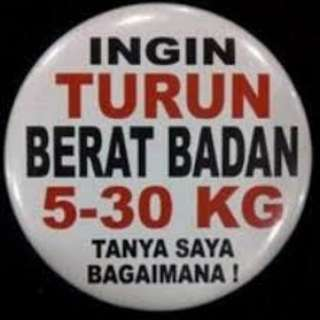 Program Turun Berat Badan / Lose Weight Program
