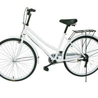 Cruiser Unisex Bikes with Rack (Wholesale) 10 bikes