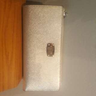 Michael Kors Jet Set Silver wallet