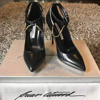 REPRICED Brian Atwood Ankle Heels