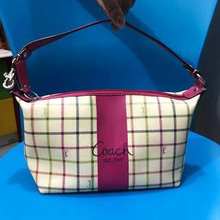 Authentic Coach Mini Bag and Pouch