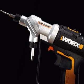 (最新)WORX WX176 20V雙頭鋰電鑽、電動螺絲批