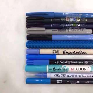Information on Brush Pens and Markers