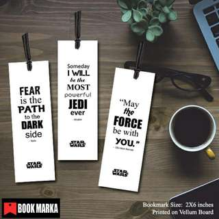 Star Wars Quote Bookmarks