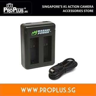 Wasabi Power GoPro Hero 6, Hero 5 Black Dual Battery Charger