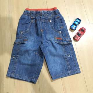 Boys Denim Pants/Shorts (18 months)