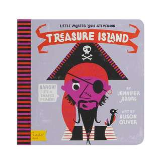 BABYLIT Treasure Island: A Shapes Primer Baby Toddler Board Picture Book