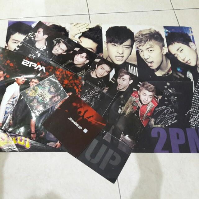 2PM Album Hands Up + Poster