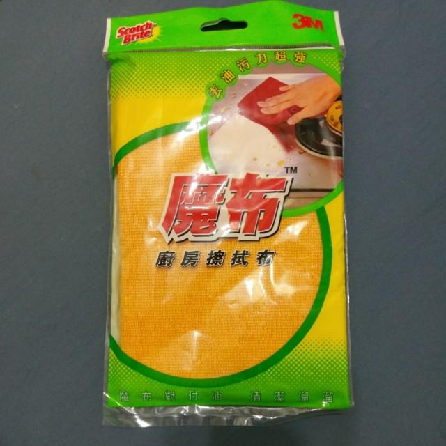 3M魔布-廚房擦拭布(去油污力超強)