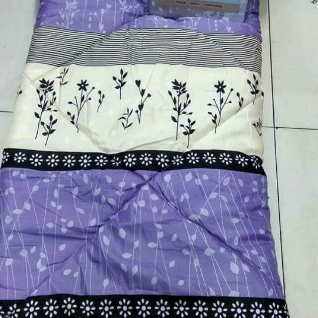 5 in 1 Bedsheet Comforter King Size Cotton