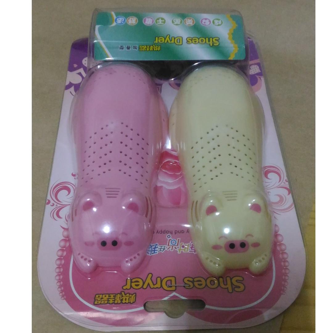 小豬造型烘鞋器