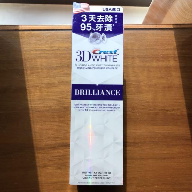 香港購入 3D crest 美白牙齒牙膏 長期香港萬寧代購