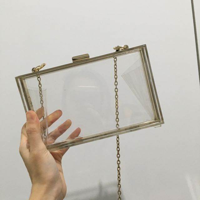 Acrylic Transparent Bag