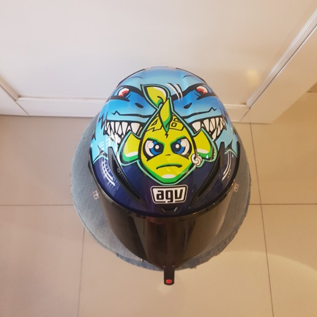 AGV Corsa Valentino Rossi VR46 Shark Helmet