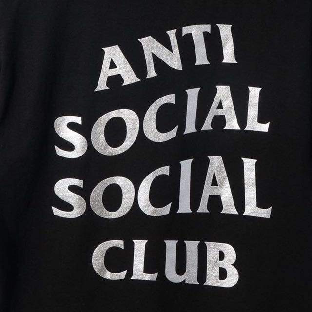ASSC 黑銀 Logo T sin city