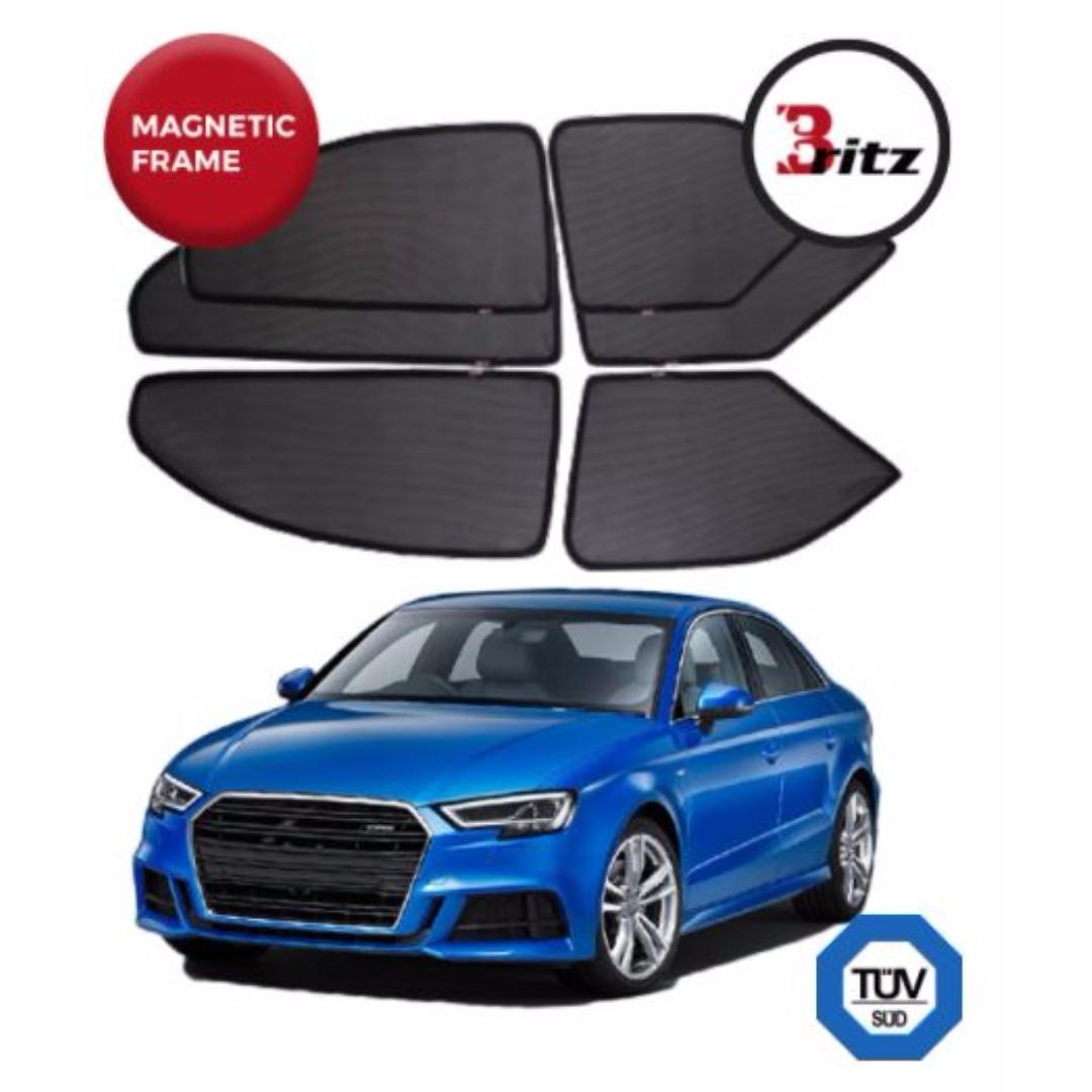Audi A12 Sedan (Premium BRITZ Shades) Customised Magnetic ... | audi a3 car accessories