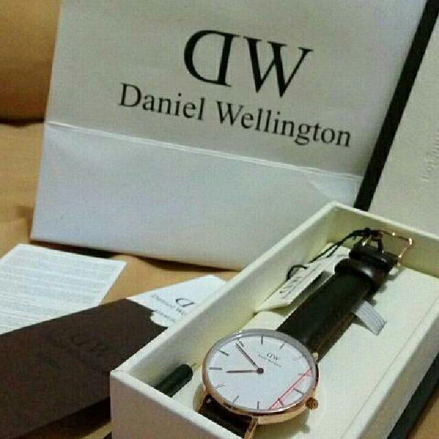 Authentic Daniel Wellington - Classic Types (BM) *Keterangan harga liat di Deskripsi