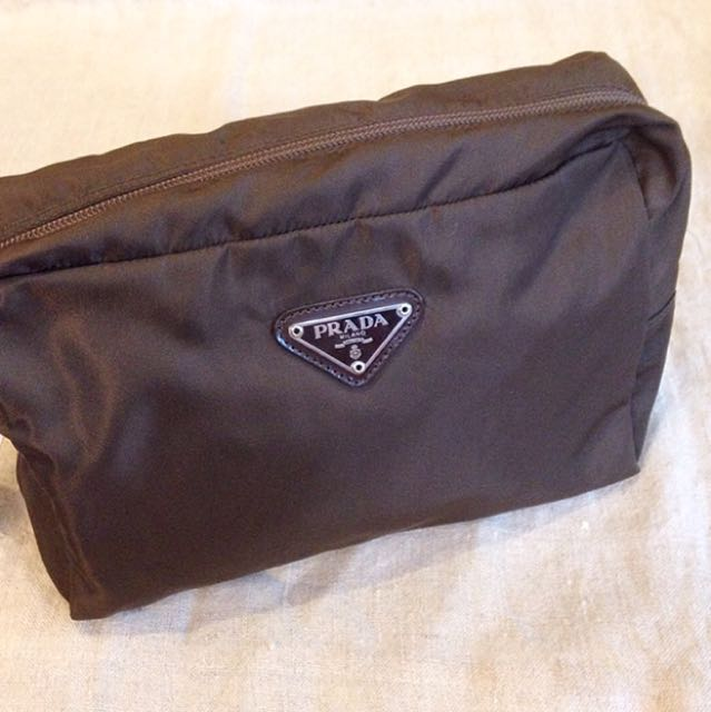 Authentic Prada Cosmetic pouch
