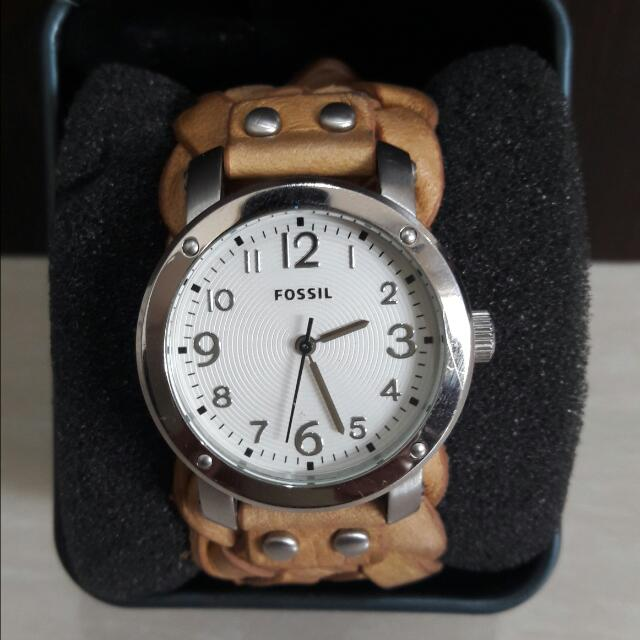 AUTHENTIC/ORIGINAL FOSSIL WATCH