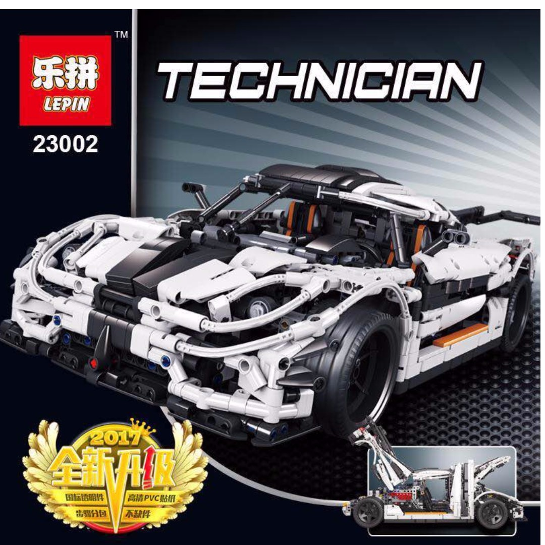 available now lepin 23002 technic series the koenigsegg. Black Bedroom Furniture Sets. Home Design Ideas