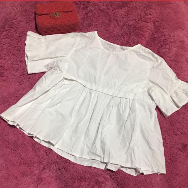 Babydoll white