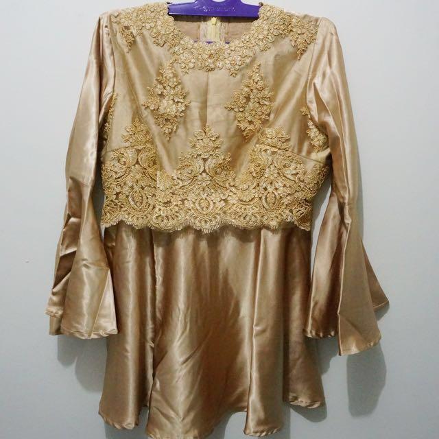 Baju Kondangan Gold