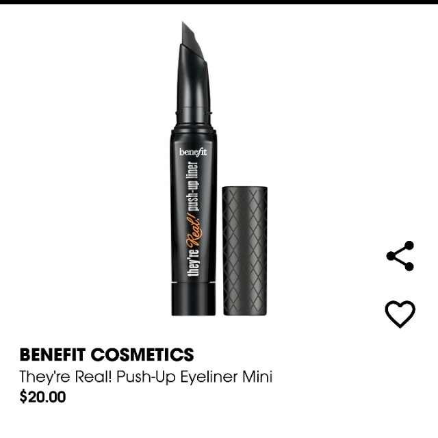 Benefit They're Real! Eyeliner MINI