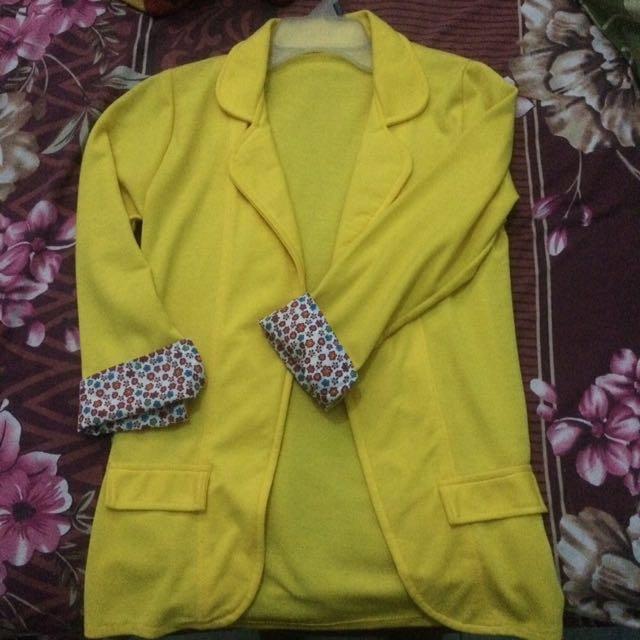 Blazer (yellow) #prelovedkusayang
